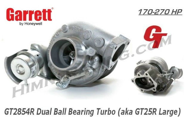 Garrett GT25R Ball Bearing Turbo - GT2854R (270 HP)