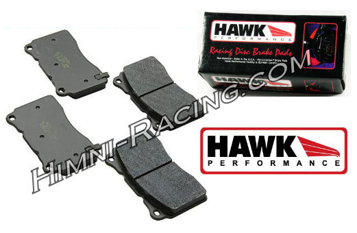 Hawk HP Plus Brake Pads Front 4 Piston 86-91 Mazda FC RX7