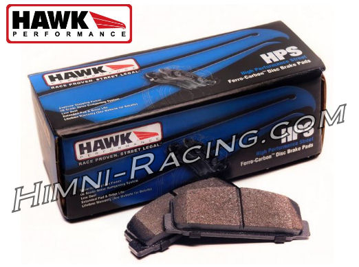 Hawk HPS Brake Pads Rear ALL 86-91 Mazda FC RX7