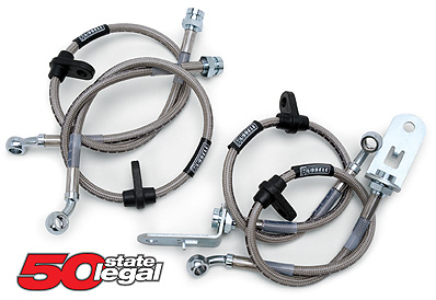 Russell Stainless Steel Braided Brake Lines 86-91 Mazda FC RX7