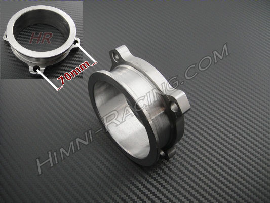 "V-Band Downpipe Adapter Flange: 3"" T3 GT 4 Bolt To 3"" V-Band"