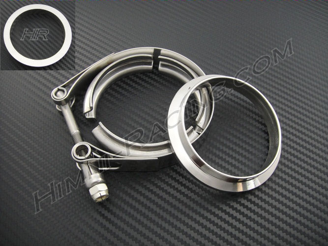"2.5"" V-band Flange & Clamp Set - 1 & 1 STANDARD Stainless"